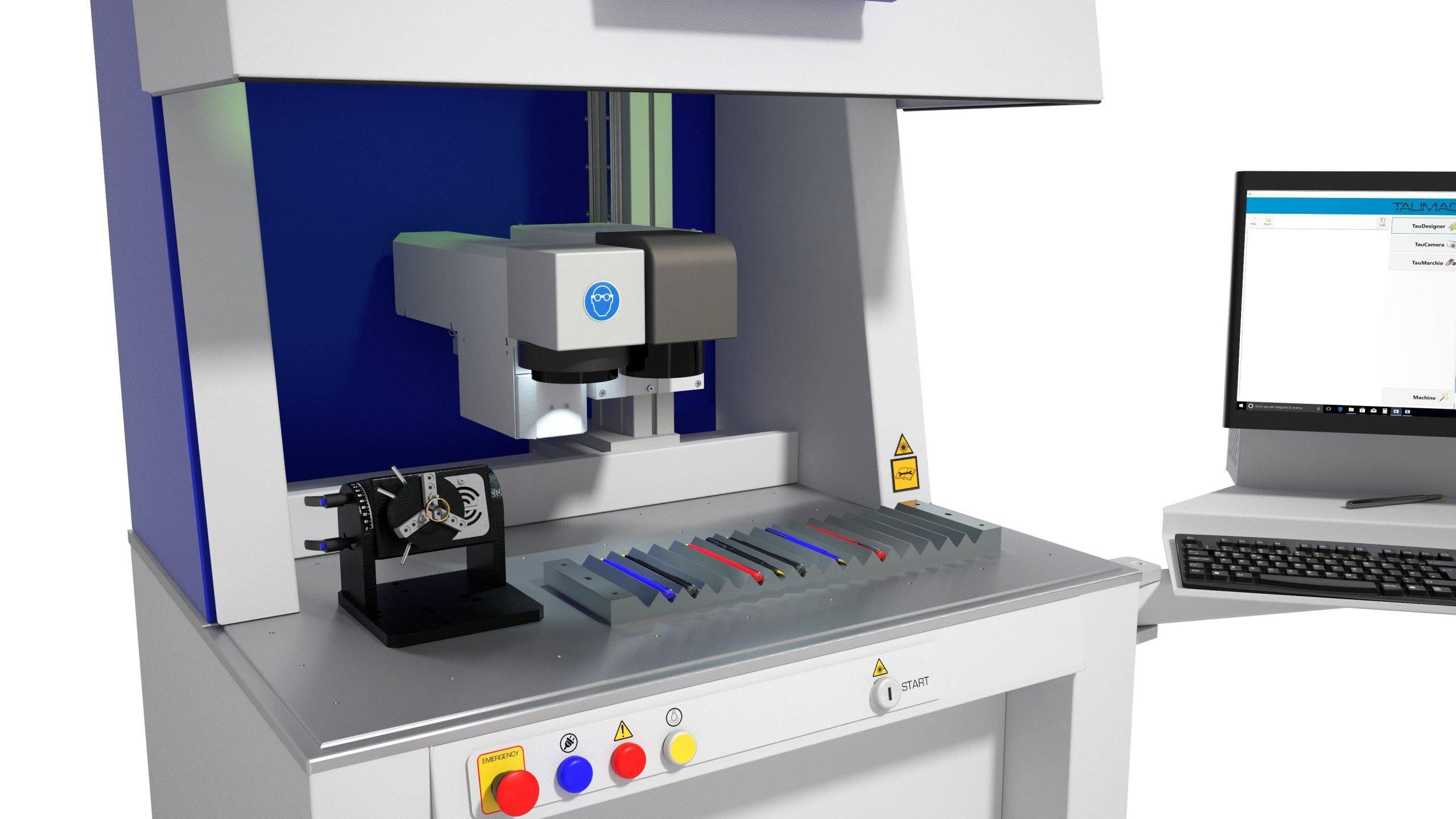 marcatrici laser TAUMARK serie M