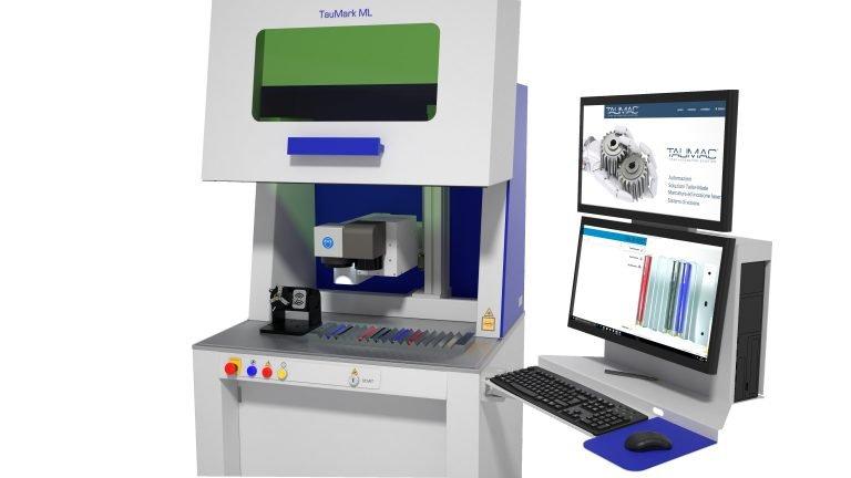 marcatrice laser TAUMARK serie M - particolare